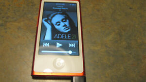 Apple iPod nano A1446 7th Generation Red Special Edition (16 GB)