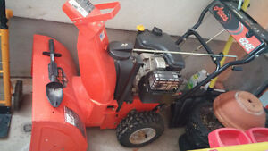 Snowblower excellent condition Arians 624 E