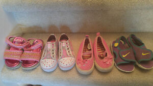 Size 6 girl's toddler shoes
