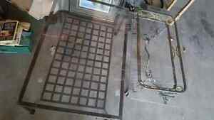 2 glass coffee tables for sale