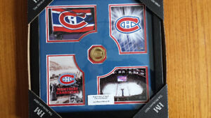 cadre de photo collection Canadiens de Montreal