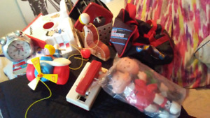 Lot de jouets vintage de collection