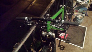 good condition all modified parts mountain bike