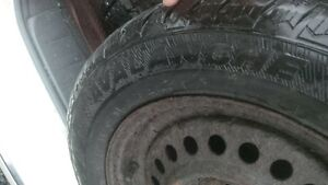 Studded Winters on Rims 195 65 15