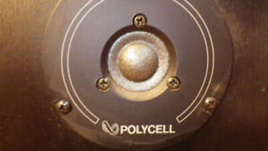 """INFINITY 3/4"""" POLYCELL TWEETERS +CROSSOVER  (paire)"""