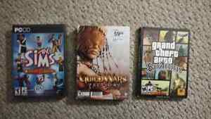 PC Video Games New Old Used