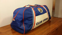 Vintage ancien Grand sac onze Club France foot football soccer