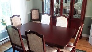 Canadian made formal dining set