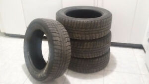 Pneus Michelin X-Ice 255/55/R16