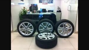 "18"" Audi S4 OEM rims and tires - great condition"