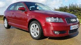 2005 (05) Audi A3 2.0 FSI auto - Full service history - New cambelt - Years MoT
