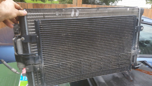 Radiator and ac condenser