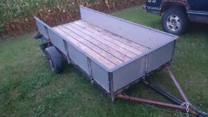 4x8 utility trailer $500