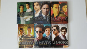 Numb3rs, The Complete Series (1-6) DVD