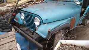 Jeep cj5 1975 for parts
