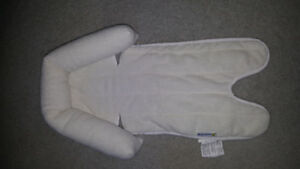 Carseat roll for infant euc