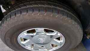 Escalade wheels with new tires P265/70/R17