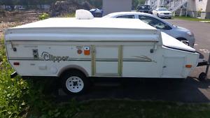 Tente roulotte coachmen clipper 10 pied de placher