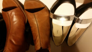 Bag of Name Brand Dress Shoes, Boots, Sandles