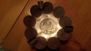 Centavos coin ashtray