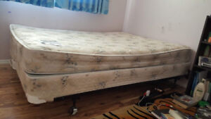 Double bed set (Mattress, Box and Frame)
