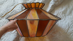 Vintage Tiffany Ceiling Lamp