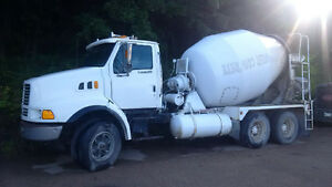 Cement Truck for sale, 9.5 yards