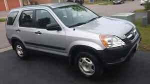 2002 Honda CR-V Very clean