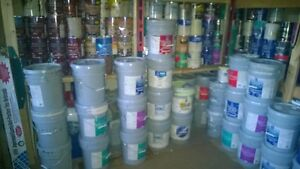 Tinted paint $10-$25 p/gallon for sale; many colors