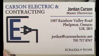Local Electrical Contractor! CARSON ELECTRIC