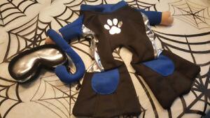 Snorkeling halloween dog costume.  Costume halloween pour chien.