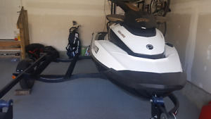 Seadoo GTX155 2013 and double trailer