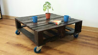 Reclaimed pallet wood decor & furniture
