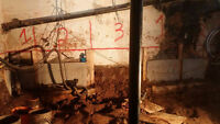 BASEMENT EXCAVATION AND UNDERPINNING