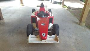 Formula 1 Ferrari style Go Kart