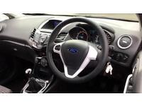 2016 Ford Fiesta 1.25 82 Zetec Black 3dr Manual Petrol Hatchback