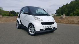 Smart Fortwo Coupe 799cc Semi Automatic White