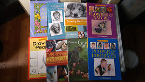 lot of children's craft books and a lot of art/ portrait books London Ontario image 2