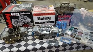 HOLLEY CARB REBUILDING AND ENGINE SET UP