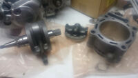 2003-2005 crf450r cylinder, crank, piston and rings all oem