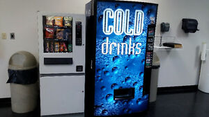 Vending Machines with Location For Sale, Pop & Snack Machine