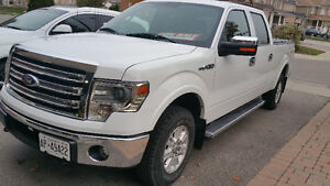 2013 FORD F-150 SUPERCREW/ 4X4/ NAV/CHROME PKG, NICE VERY CLEAN