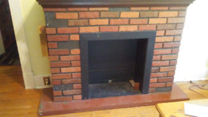 Free - Fireplace mantel, 5ft,6in in length, 1ft,6in in width