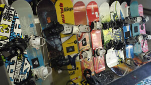 Plusieurs planches a liquider / Many Snowboards to liquidate