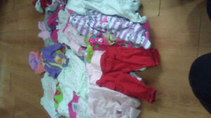 Selling large lot of girls clothes