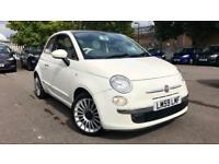 2010 Fiat 500 1.2 Lounge 3dr Manual Petrol Hatchback