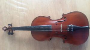 Beautiful 120 year old violin by Belgian maker for sale