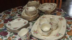Large set of vintage dishes--REDUCED FOR QUICK SALE