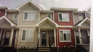 FOR RENT 3 BEDROOM  TOWN HOME  W/OVER SIZE  DOUBLE GARAGE