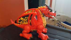 Fisher price dragon with noises